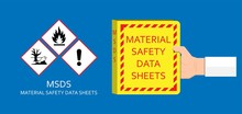 Material Safety Data Sheet Hazard Safe Globally Harmonized System Danger First Aid Measures Personal Protection WHMIS