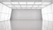 Leinwandbild Motiv Empty room interior