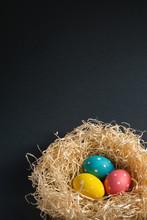 Colorful Polka Dot Easter Eggs...