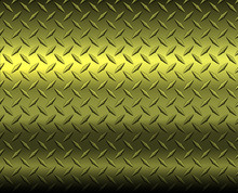 Gold Diamond Steel Metal Sheet Texture Background