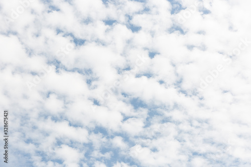 Photo background of a sky with Altocumulus clouds