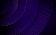 Abstract Purple Circle Line Stripes. Hi-tech Futuristic Background