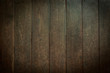 canvas print picture - barn wood plank texture, image dark wall background