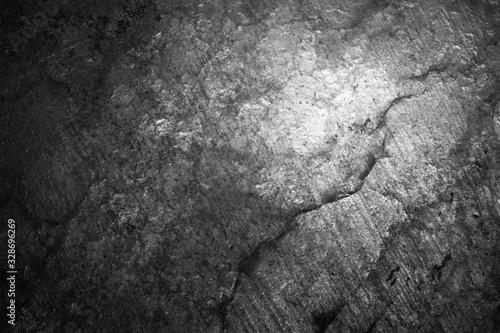 Macro photo of backlit salt stone. Background texture. Canvas Print