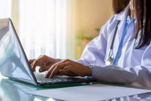 Female Doctor Or Medical Stude...