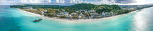 Aerial View Of Boracay Beach I...
