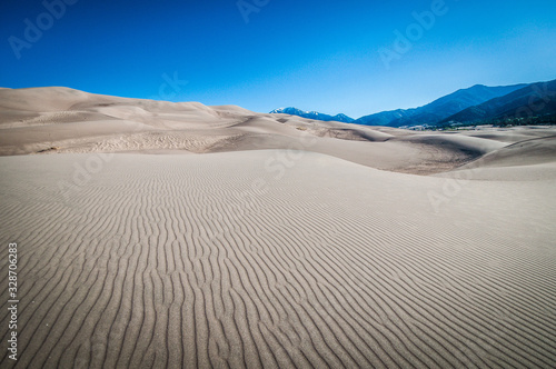 Valokuvatapetti sand dunes and peaks