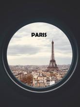 Eiffel Tower Seen Through A Ci...