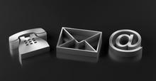 Metal Telephone, Envelope Lett...