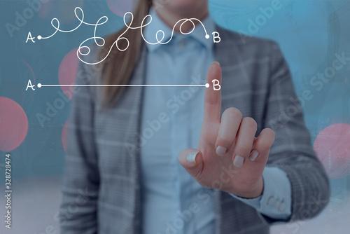 Fényképezés Handwriting text writing Simplify your ideas