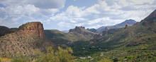 A Panoramic Desert Vista Looki...