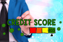 Word Writing Text Credit Score...