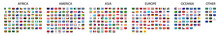Flag Of World. Vector Icons. S...