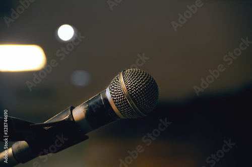 Microfone para cantar Wallpaper Mural