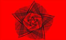 Black Line Geometric Shapes On...