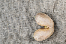 The Tuber Of A Potato On A Decorative Background