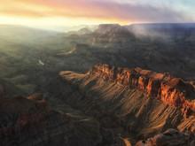 Smoke Over The Grand Canyon Fr...