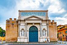 Rome, Italy. The Outer Face Fa...