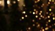 ฺBlur and bokeh background of the night lights