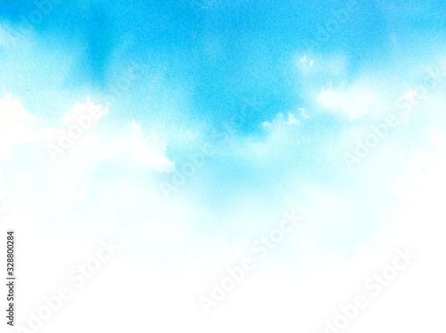 Photo 水彩で描く空