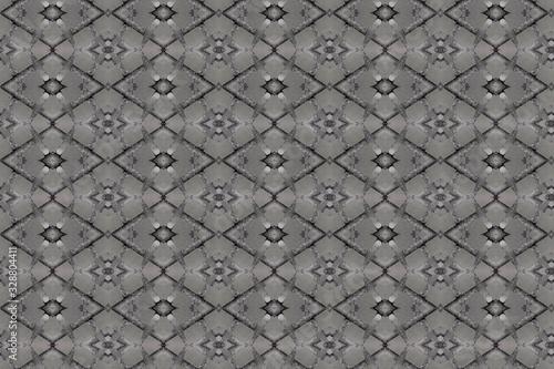 Grey and Black  Diamond Background pattern
