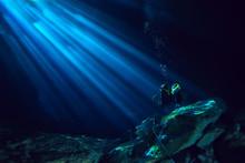 Underwater World Cave Of Yucat...