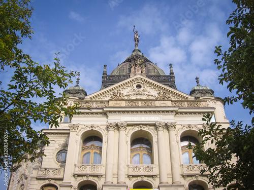 Fotografie, Tablou Kosice, Slovakia: The State Theatre