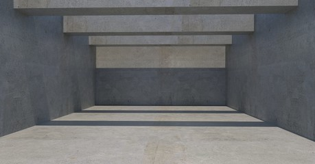 simple concrete wall 3d image