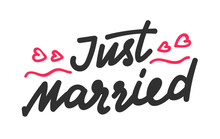 Just Married Hand Written Lett...