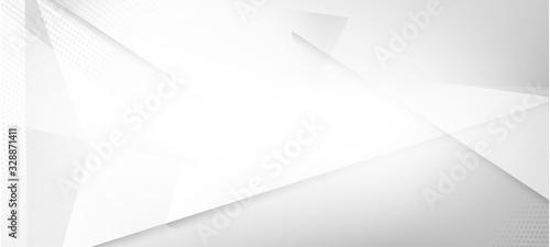 Obraz Halftone Minimal Gray Vector Background. Geometric Dots Texture.  - fototapety do salonu