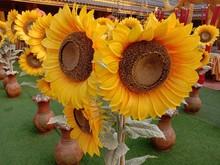 Artificial Sunflowers Yellow B...