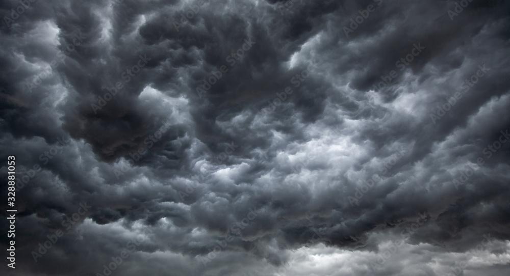 Fototapeta Dark, Ominous Rain Clouds