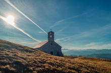 Church On Top Of The Mountain