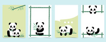 Collection Of Panda Background...