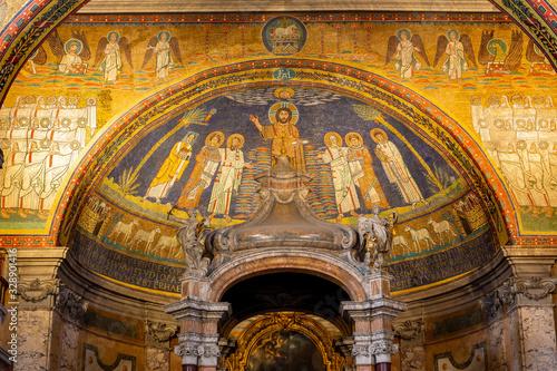 Fototapeta Basilica of Saint Praxedes, Rome, Italy obraz