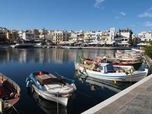 A Small Mediterranean Marina W...