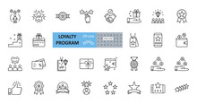 Loyalty Program Icons. 29 Vect...