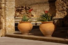 Antichi Vasi In Terracotta Con...