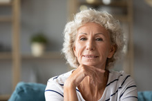 Portrait Of Happy Elderly 50s ...