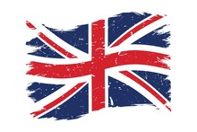 Grunge UK British Flag Vector ...