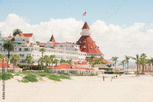 Hotel Del Coronado in San Diego California