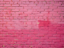 Unevenly Colored Brick Wall Texture