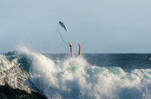 Surfer Wiping Out, Sydney Australia