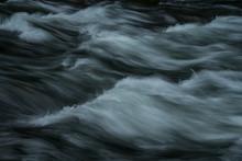 Water Flowing Down The Creek