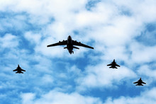 Military  Aircraft In Flight