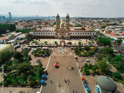 Zapopan center Basilica in Jalisco Mexico