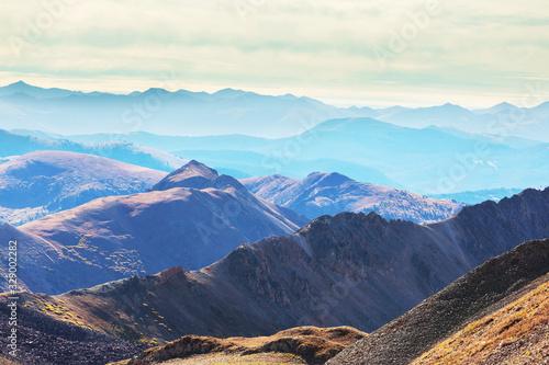 Mountains in Colorado Canvas Print