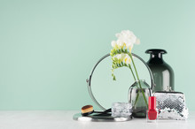 Dressing Table In Mint Menthe ...