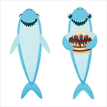 Baby Shark Character For Birth...