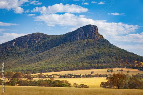 Closeup view of Mount Abrupt, Grampians, Victoria, Australia Canvas Print